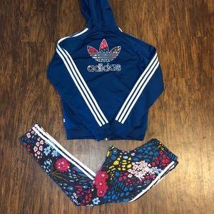 AY9024 + AY8377 Adidas Originals Leggings + Jacket